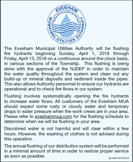 Hydrant Flushing. Use This Interactive Map To Follow The Evesham Mua Hydrant Flushing In Realtime Orange Hydrants Will Change Green As They Are Pleted. Wiring. Hydrant Flushing Mobile Home Park Diagram At Scoala.co